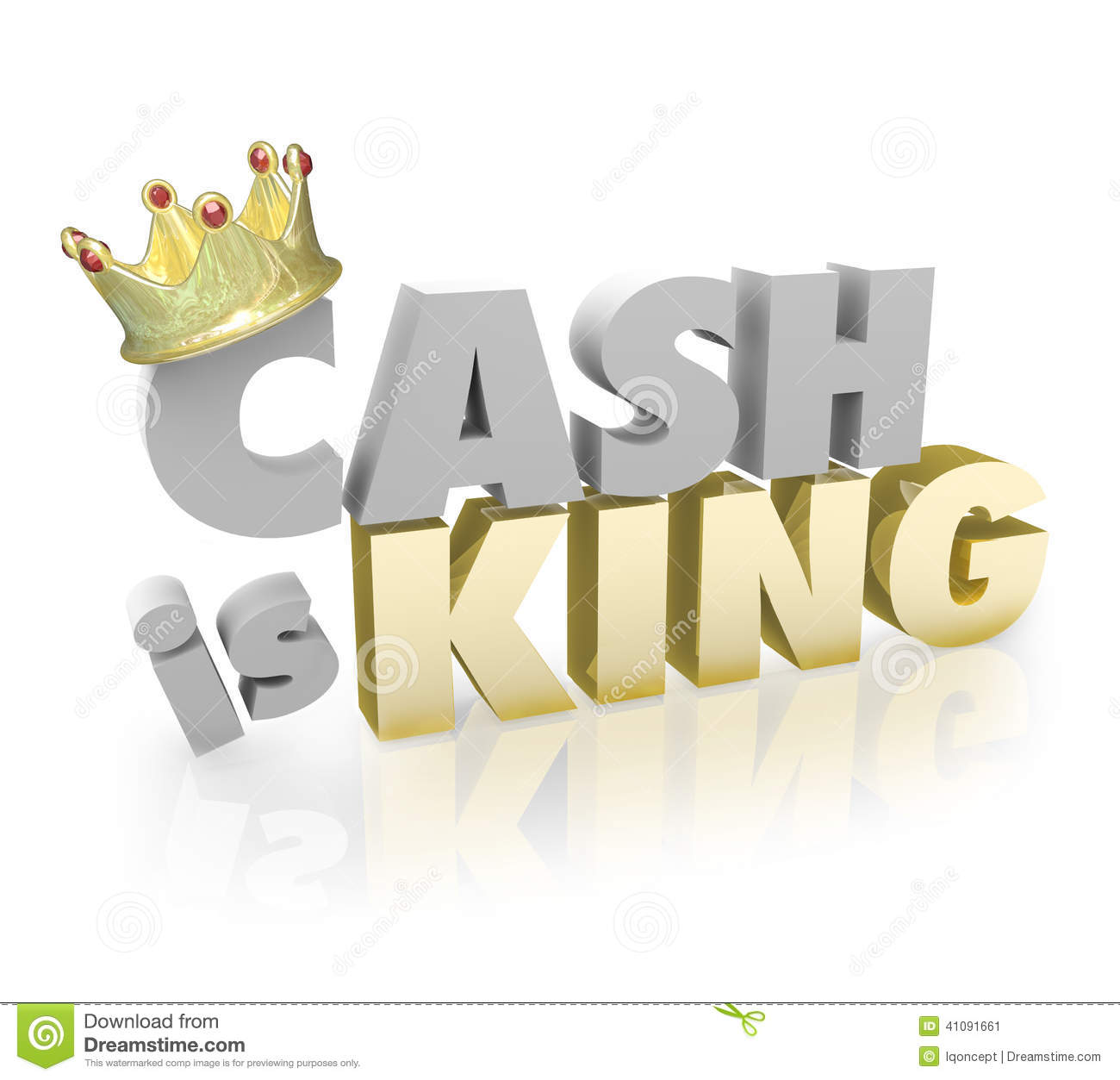 Cash Is King Clipart - Clipart Kid
