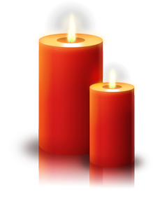 Christmas Candles Burning   Http   Www Wpclipart Com Holiday Christmas
