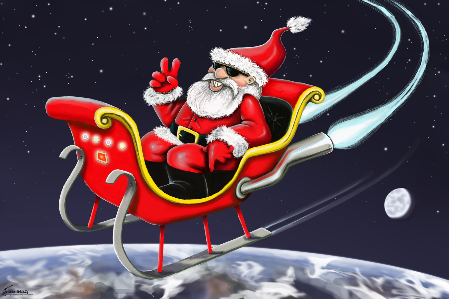 Christmas Legends   Santa And