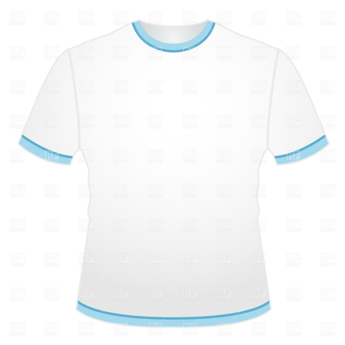 Blank T-shirt Clipart - Clipart Kid