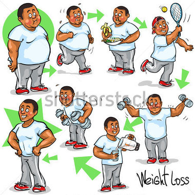 Funny Weight Loss Clipart