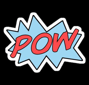 Pow Superhero Clipart   Cliparthut   Free Clipart