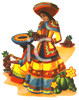 Royalty Free Spanish Culture Clipart