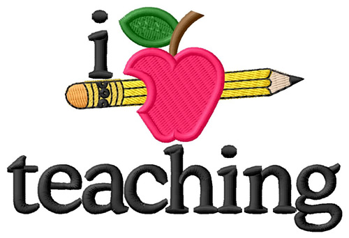 Teacher Apple And Pencil   Clipart Panda   Free Clipart Images