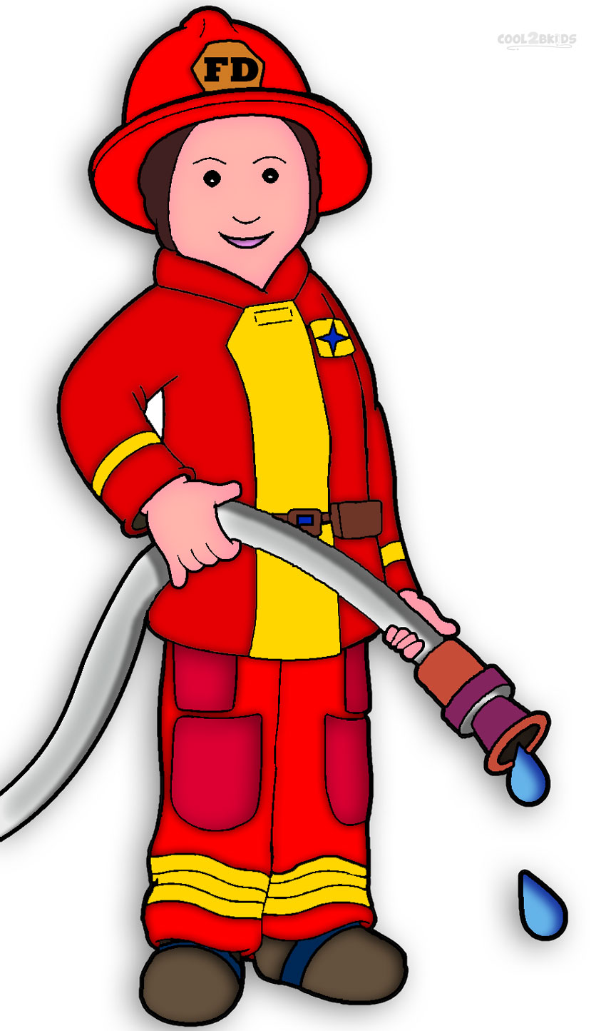 Clip Art Fireman Clip Art fireman tools clipart kid free printable coloring pages cool2bkids