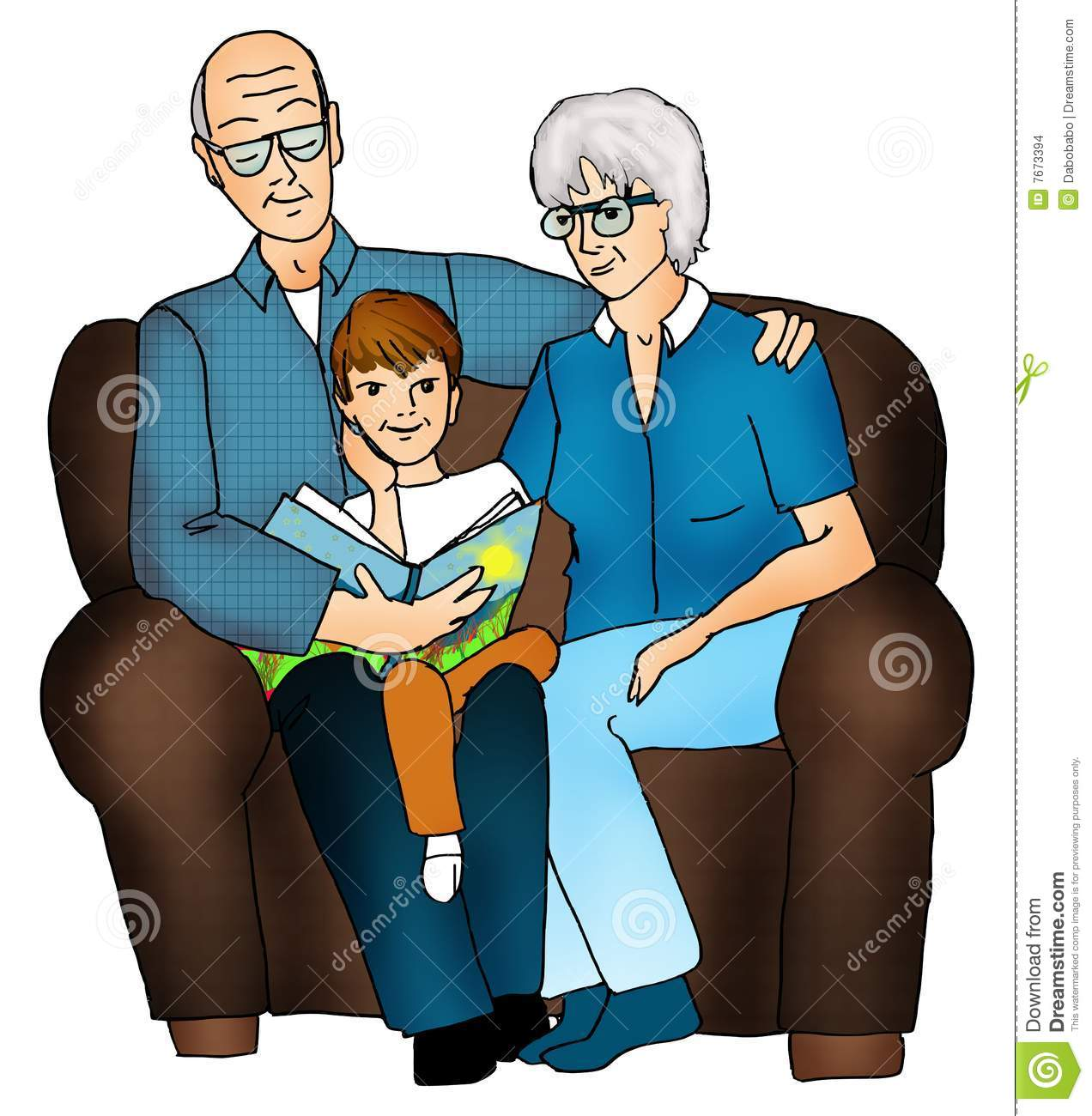 Grandparents And Grandchildren Clipart Congratulations And Thank You