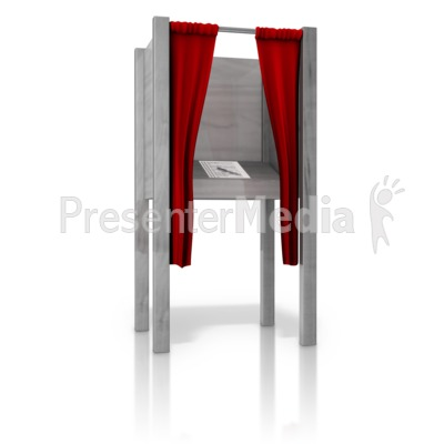 Voting Booth Clipart - Clipart Kid