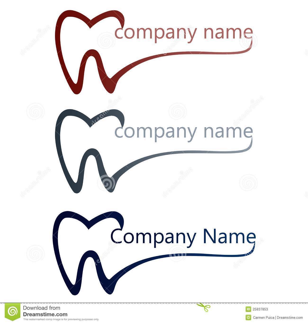 Logo For Dentists And Dentistry Or Dental Companies