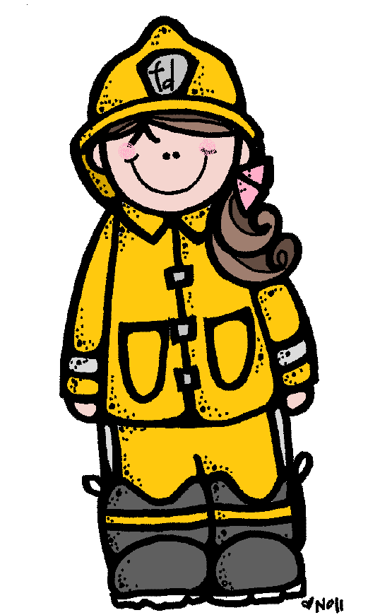 Woman Firefighter Clipart - Clipart Kid