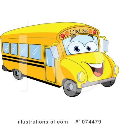 Blank School Bus Clipart - Clipart Kid