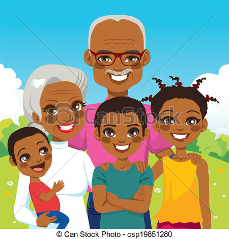 Grandchildren Clipart - Clipart Kid