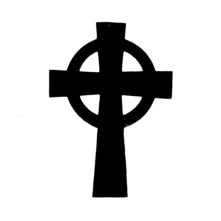 Simple Celtic Cross Clip Art Clipart Panda Free Clipart Images ...