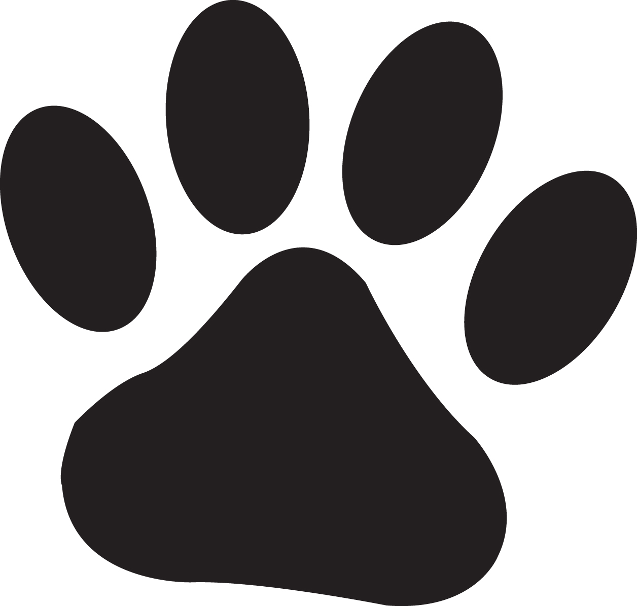 There Is 19 Fox Paw Print   Free Cliparts All Used For Free