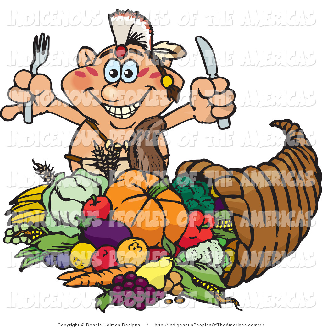 Thanksgiving native american clipart clipart suggest for Art and appetite american painting culture and cuisine