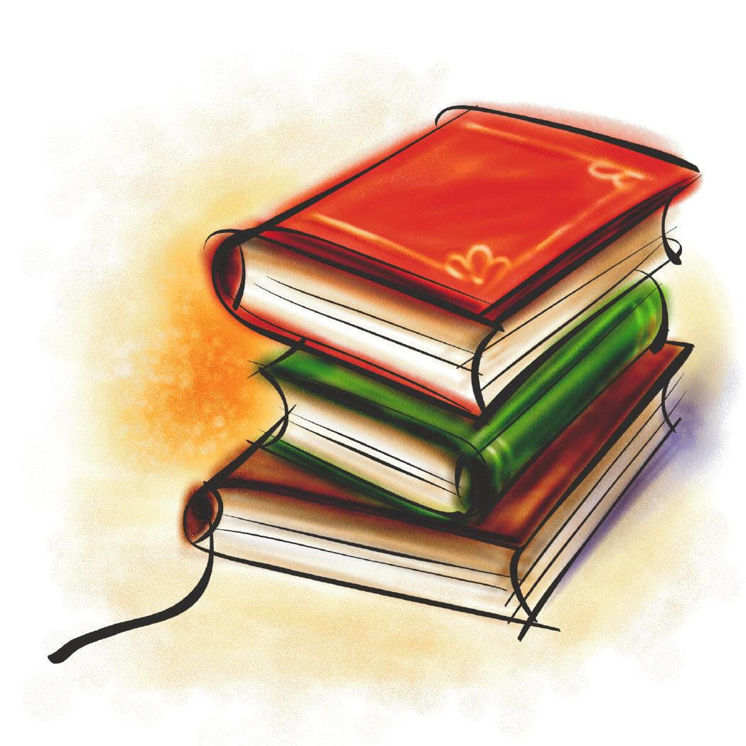 Organized Books Clipart - Clipart Kid