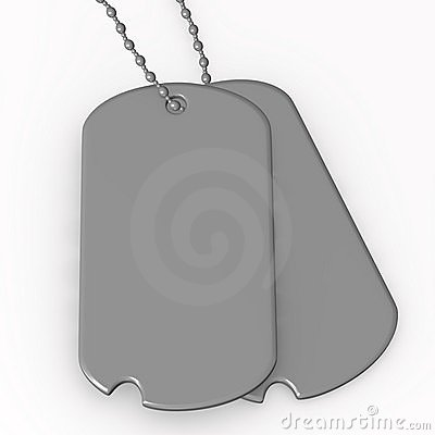 Dog Tag Clipart 3d Render Of Dog Tag