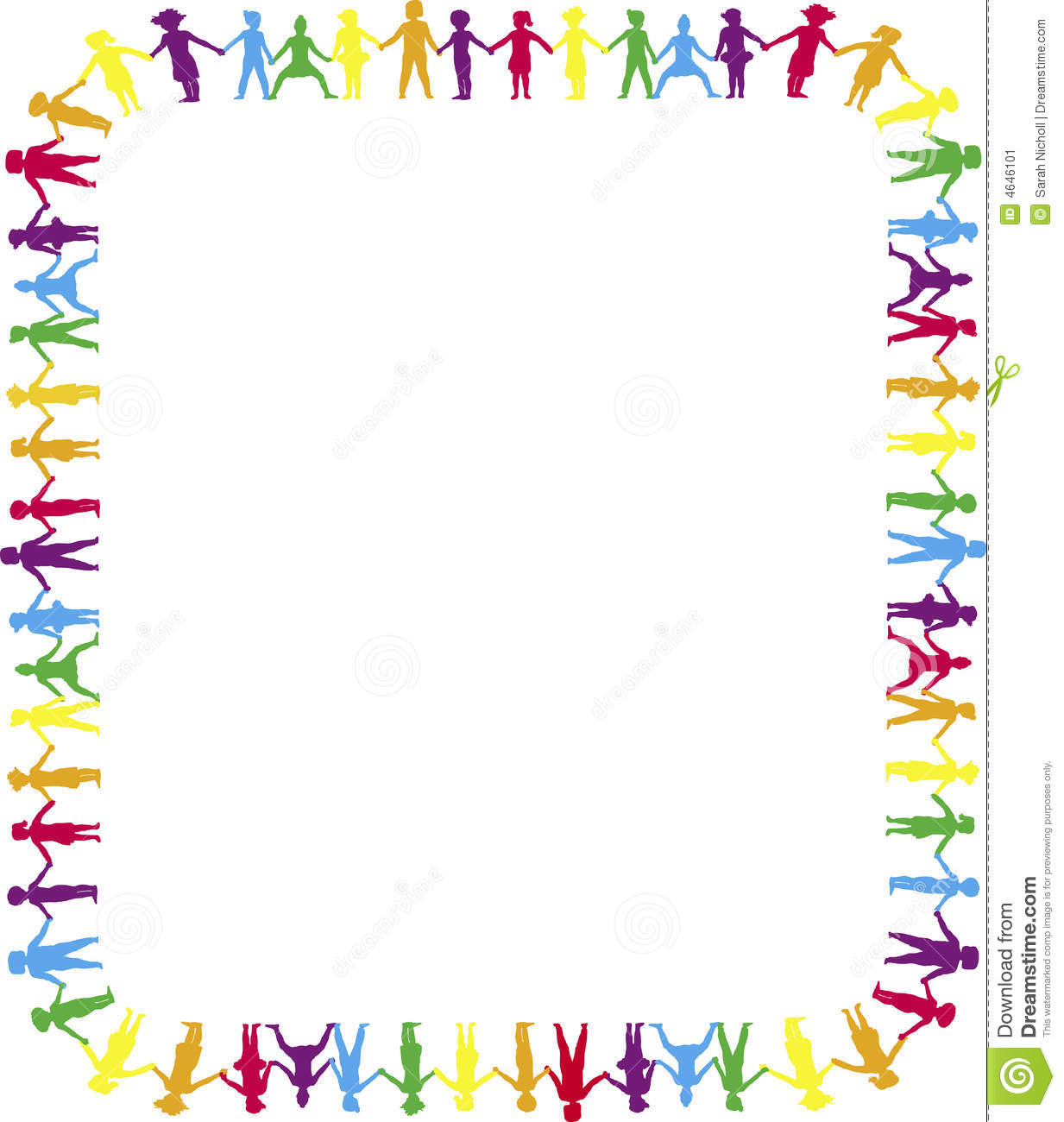 free clip art borders of children' - photo #27