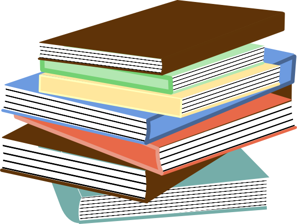 Stack Of Books Clip Art At Clker Com   Vector Clip Art Online Royalty