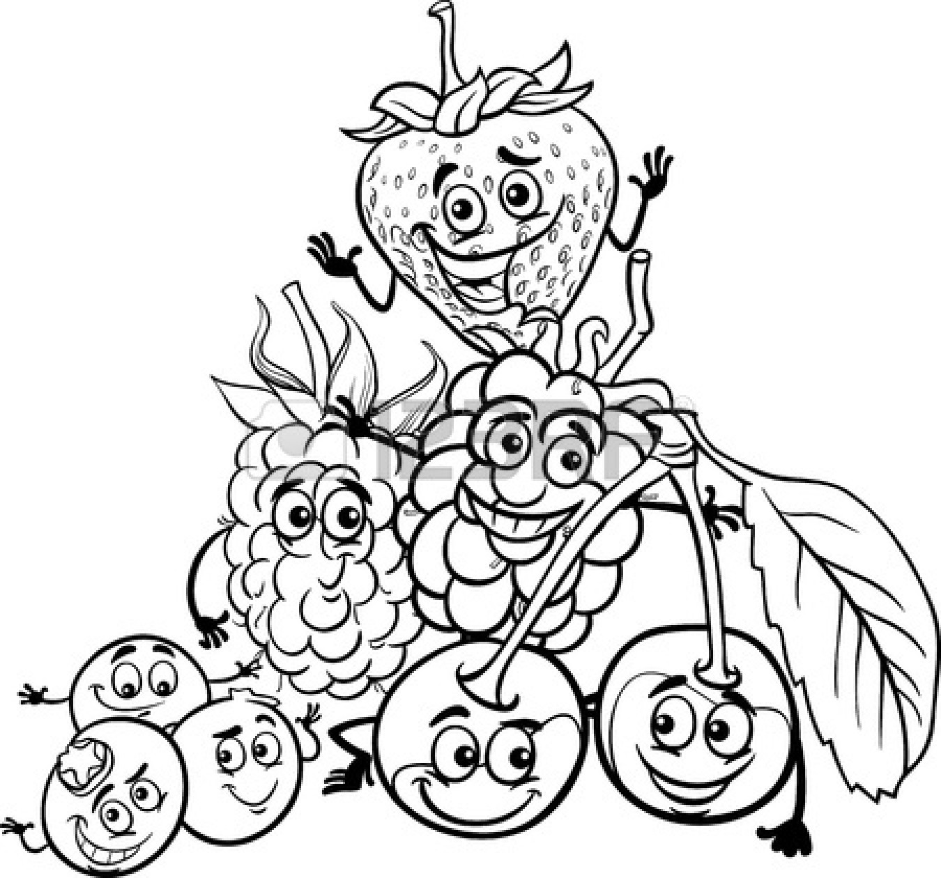 Food Black And White Clipart - Clipart Kid