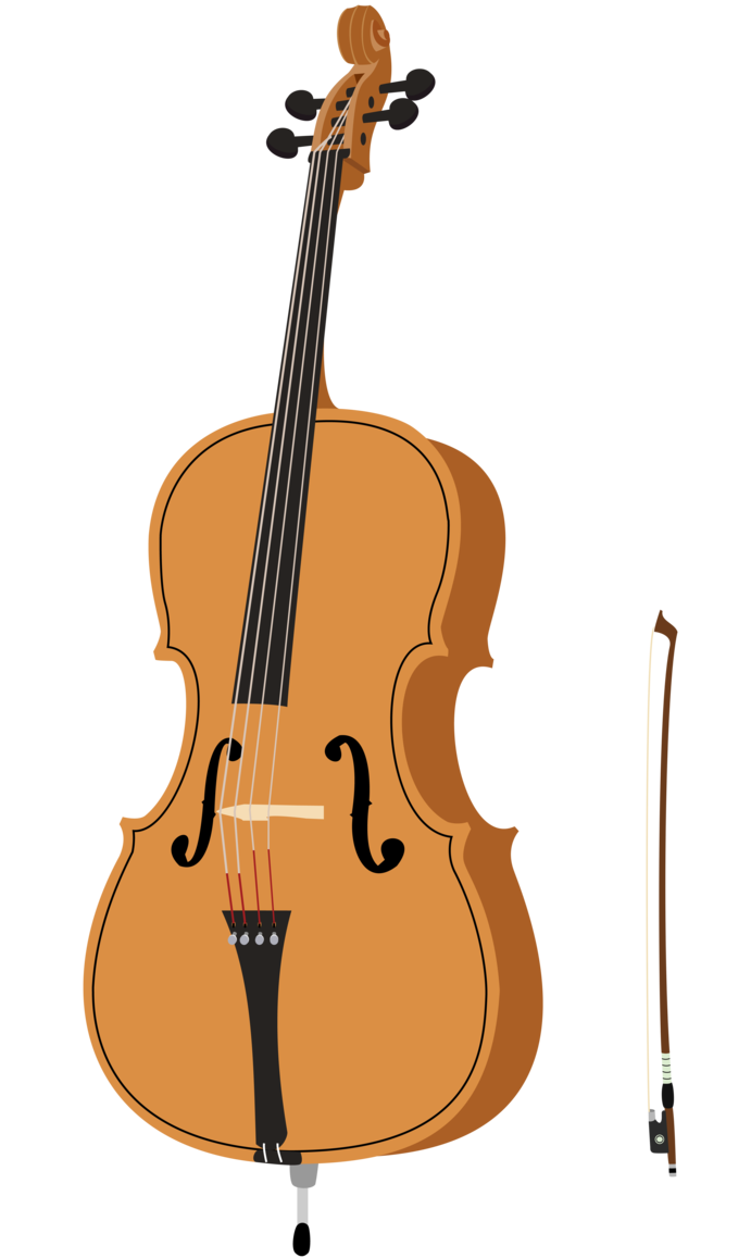 Cello Clipart - Clipart Kid