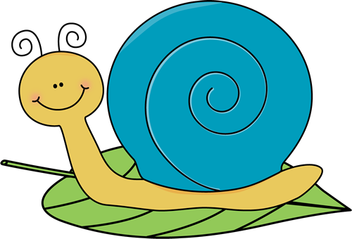 Cartoon Snail Clipart