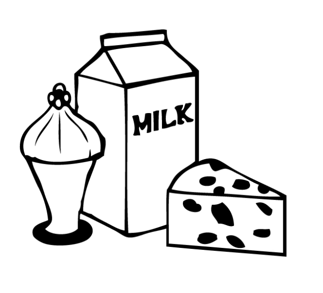 Dairy Clipart Black And White Dairy Clipart 15 Clipart 84 Jpg