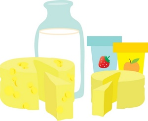 Dairy Clipart Image   Dairy Products