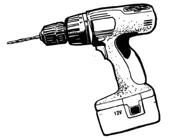 Drill Clipart Handyman Clipart Powerdrill