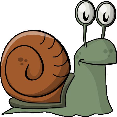 Free Cartoon Snail Clip Art