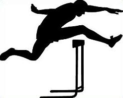 Clip Art Track Clipart track hurdles clipart kid free clipart