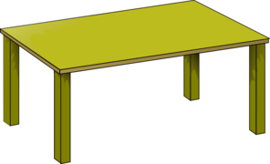 Kitchen Table Clipart - Clipart Suggest