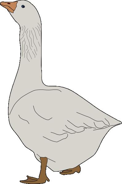 Goose Clip Art At Clker Com   Vector Clip Art Online Royalty Free