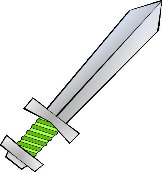 Clip Art Sword Clip Art sword clipart kid green clip art at clker com vector online royalty