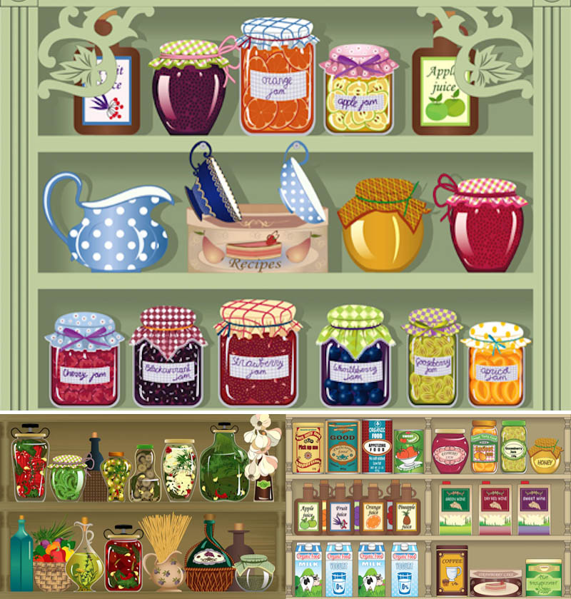 Grocery Store Clipart Vector   Vector Graphics Blog