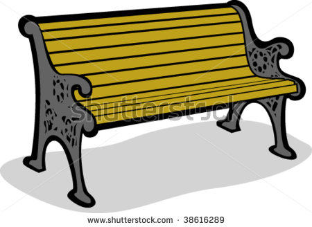 Bench Clipart - Clipart Suggest Park Bench Clipart Black And White