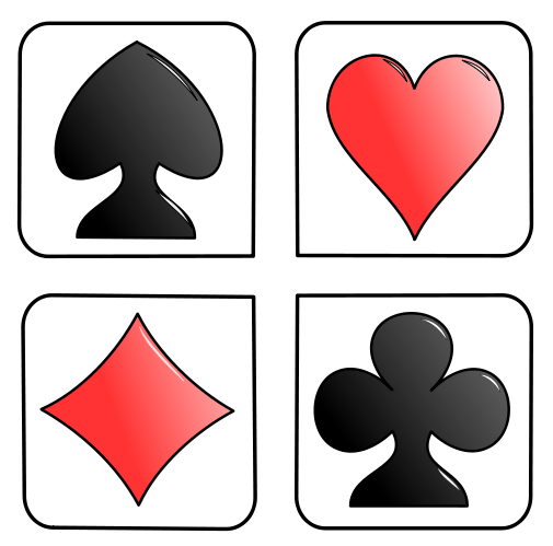 Recreation Games Card Deck Cards Symbols Playing Card Symbols Png Html