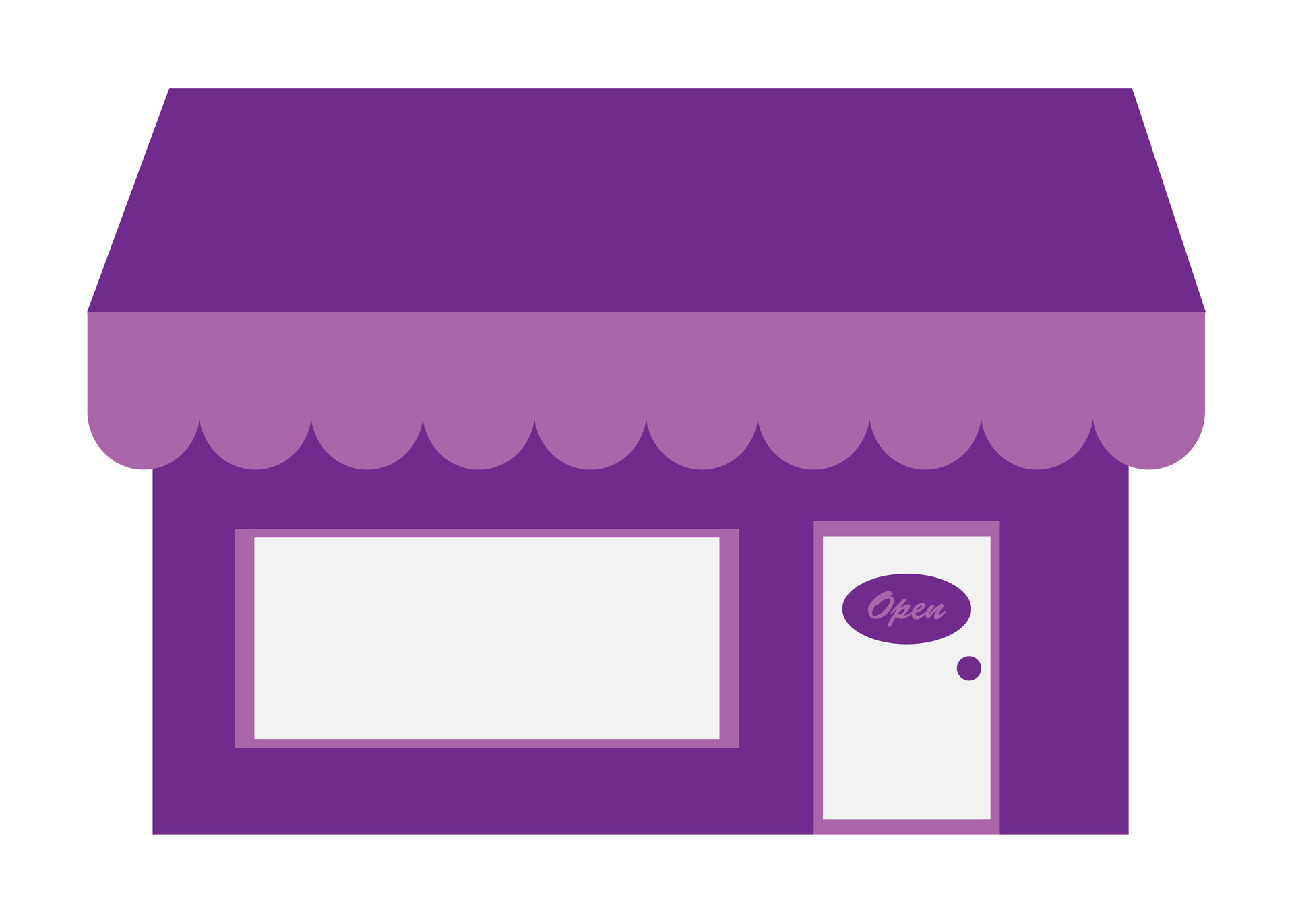 Store Shop Clip Art By Karen Arnold