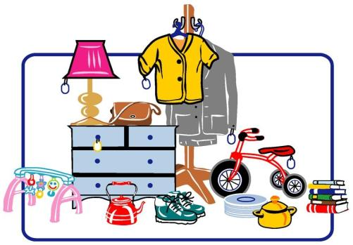 Thrift Store Clipart