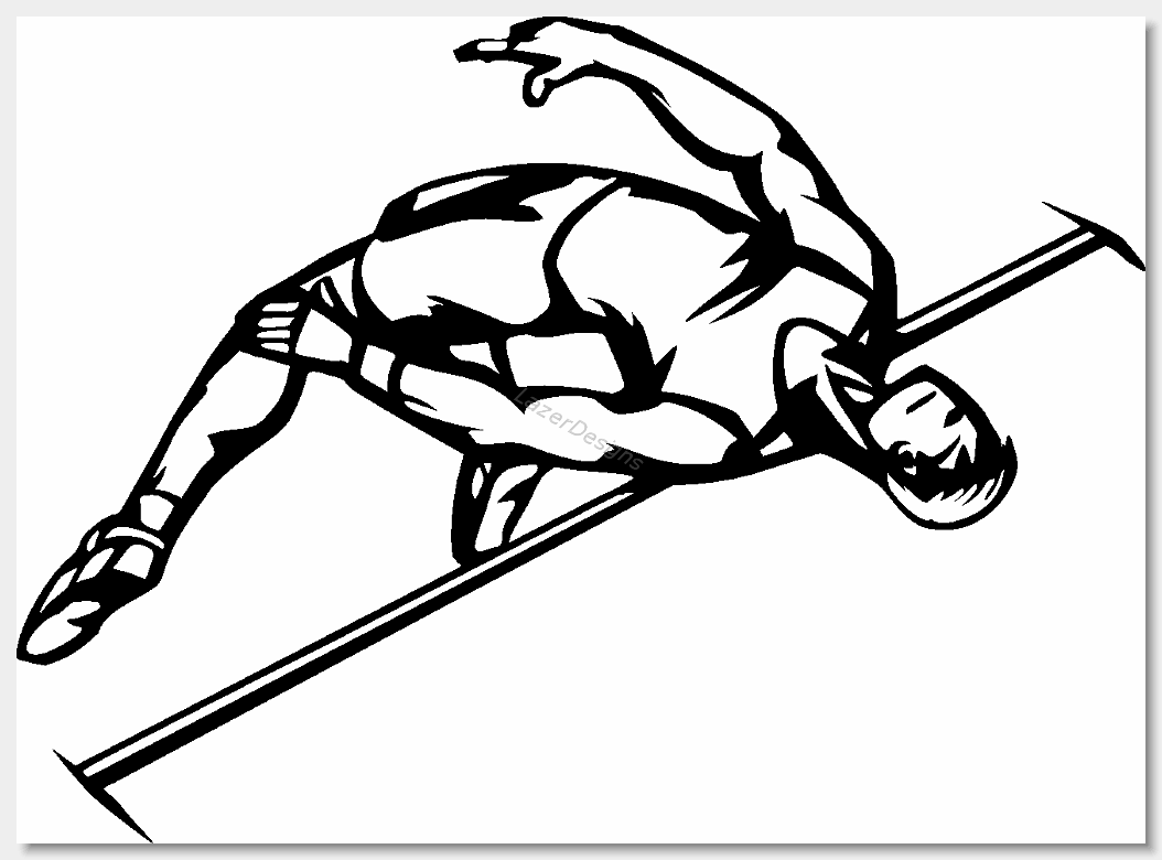 Track And Field Clipart Track And Field013
