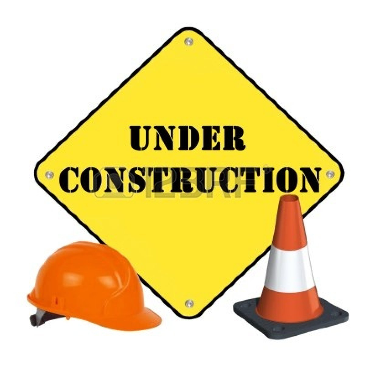 Under Construction Signs Clipart - Clipart Kid
