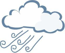 Windy Clipart Rainy Clipart Weather Clipart