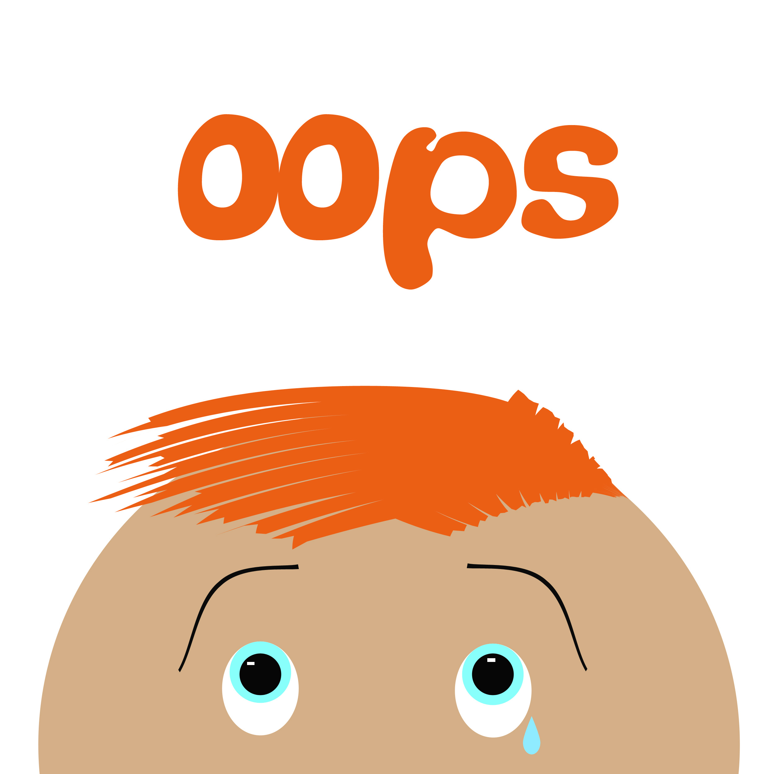 Oops Clipart - Clipart Kid