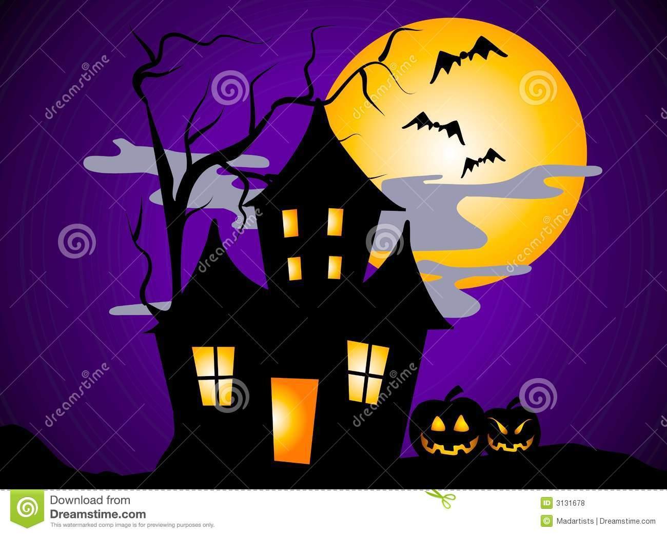halloween scene clipart - photo #23