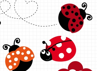 Flying Ladybug Clipart - Clipart Kid