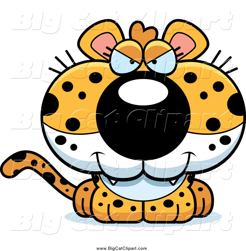 Royalty Free Bully Stock Big Cat Clipart Illustrations