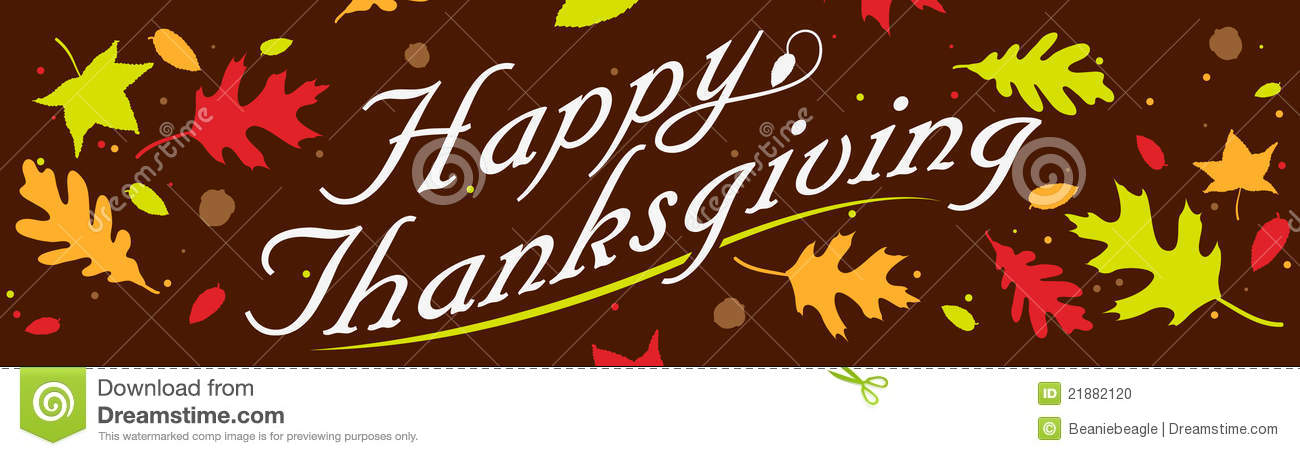 Thanksgiving banner clipart clipart suggest for Happy thanksgiving banners