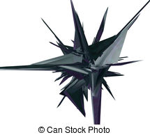 Thing   Abstract Futuristic Thing On White Background   3d