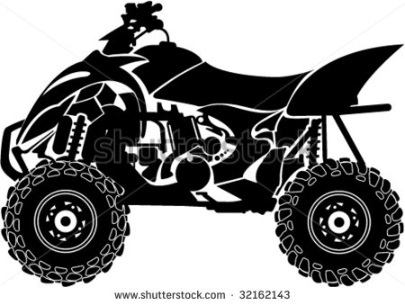Atv Blue And Gold Clip Art