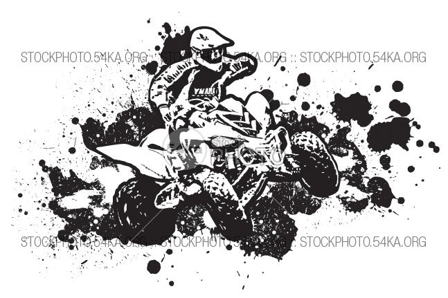Back   Gallery For   Clip Art Of Cmr Four Wheeler