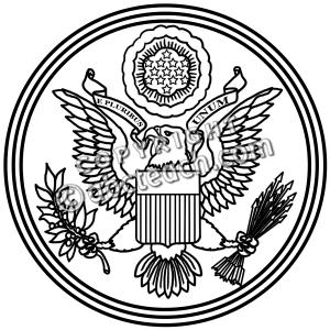 Great Seal Clip Art